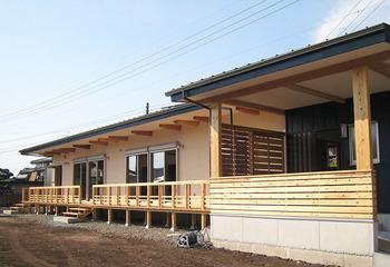 自然素材の家  子どもたちが元気な木のお家 ブランコ 平屋 (熊本 大津町)サムネイル
