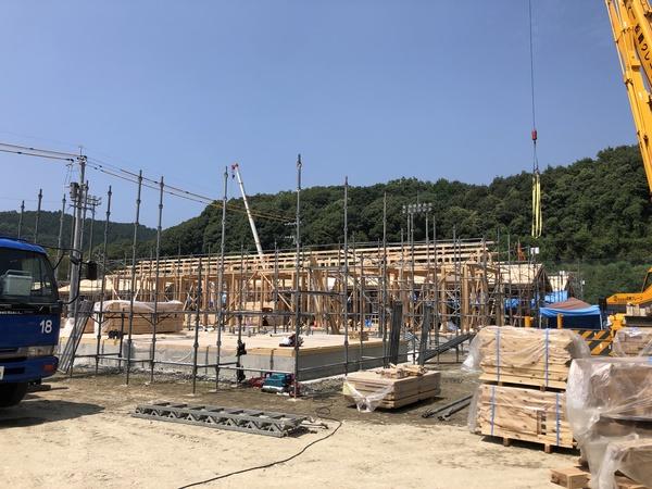 球磨村仮設団地の状況です!サムネイル