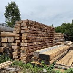 自然乾燥木材確認にサムネイル